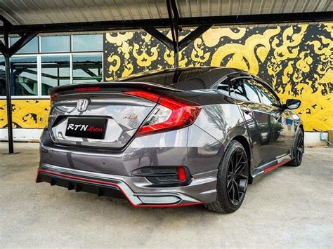 Honda Civic Kit by Kit Amotriz Style For Honda Civic 2016 Rstyle Racing