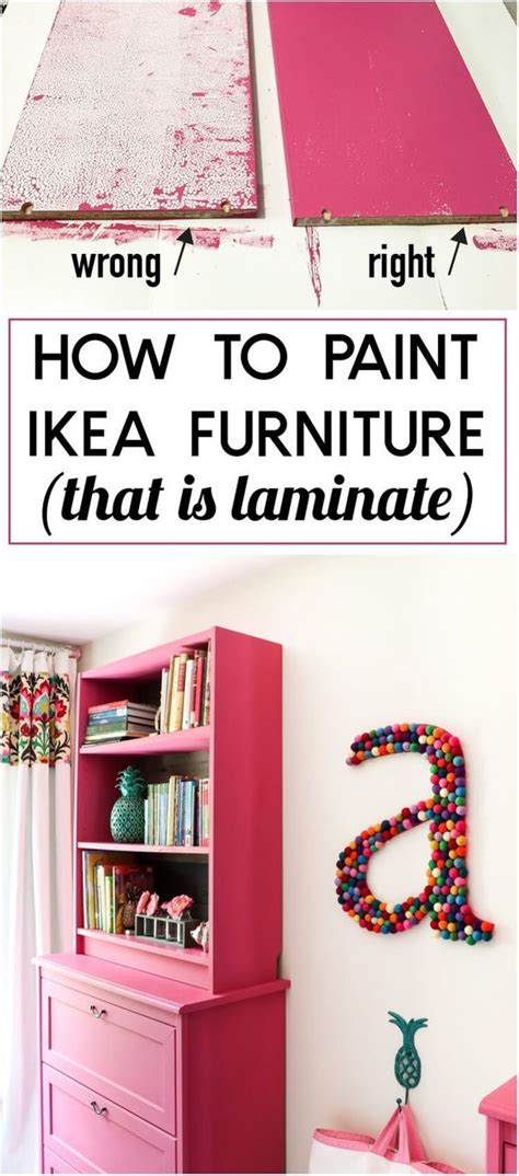 how to paint ikea furniture 20 awesome diy ikea hacks 2017
