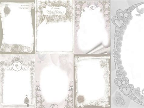 wedding photo templates european style wedding photo frame templates