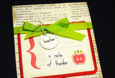 Thank You Note For Handmade Gift - 12 adorable gifts that can make for teachers