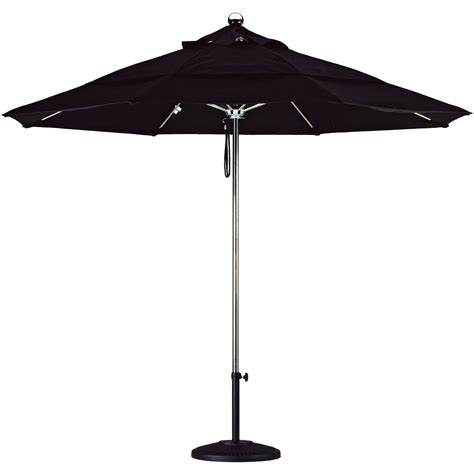 11 Ft Patio Umbrella California Umbrella 11 Ft Steel And Fiberglass Vent Sunbrella Market Umbrella Patio