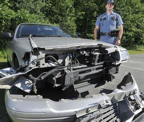 Portland Maine Arrest Records Dashboard Captures Trooper S Split Second Maneuvers The Portland Press Herald