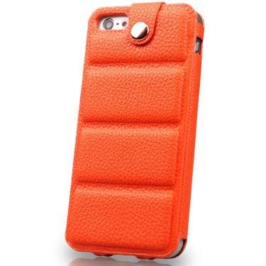 Iphone 55s Kashidun Chuan Series Leather With Button Efficient Protective Orange kashidun chuan series leather with button efficient protective for iphone 5 5s orange