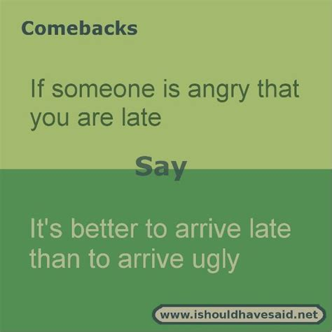 8 Awesome Comebacks by Comebacks For Rude Pictures To Pin On