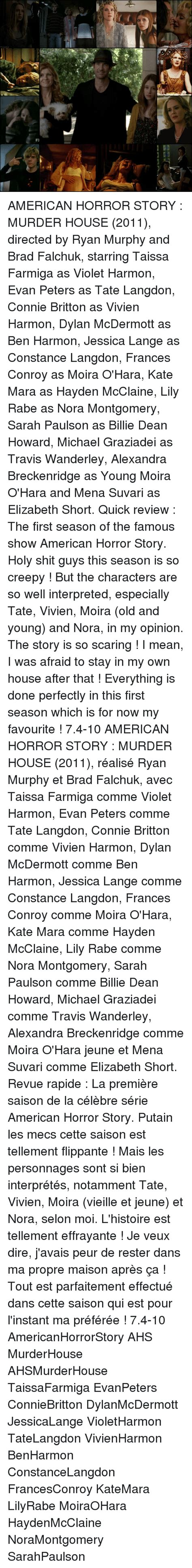 American Horror Story Murders House by 25 Best Memes About Elizabeth Elizabeth Memes
