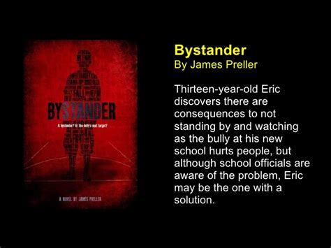 theme of bystander by james preller new realistic fiction
