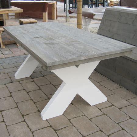 tafel leipzig steigerhout eettafel leipzig 1 1 tafelmaatwerk nl
