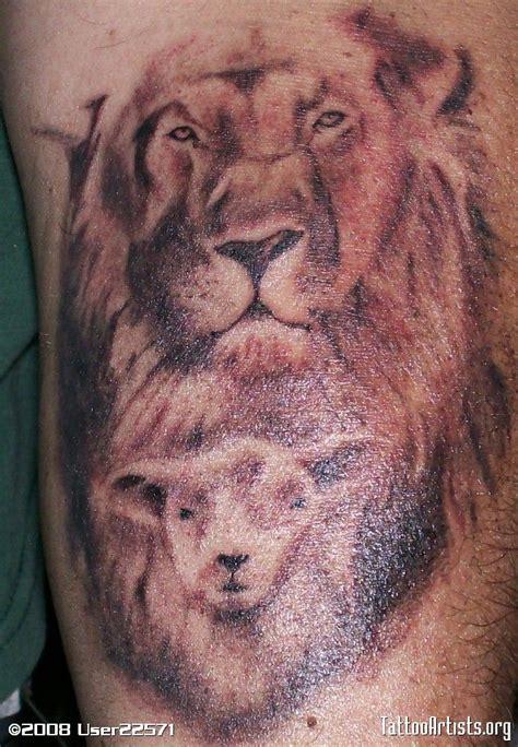 lamb of god tattoos of judah of god top x3cb x3elion x3c b