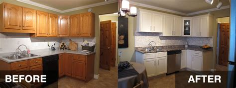 reface kitchen cabinets before and after kitchen cabinet refacing hac0 com