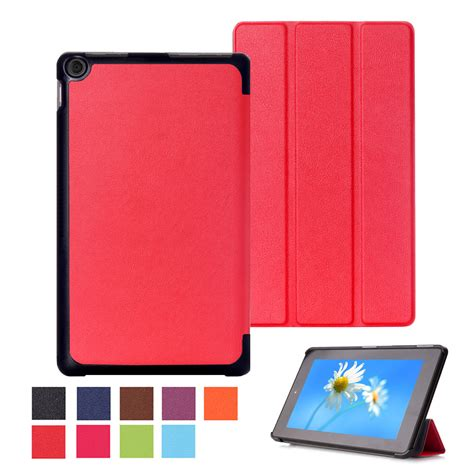 Cover For Hd 8 for kindle hd 8 quot 2016 6 leather shockproof ultra thin cover ebay