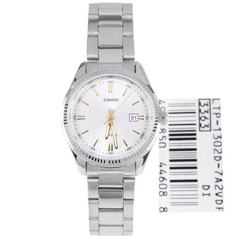 Casio Standard Ltp 1302d 7a2 1 casio white dress ltp 1302d 7a2 ltp1302d
