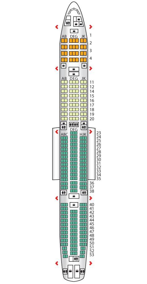 boeing 777 300er jet seating plan comfort class b777 300er turkish airlines seat maps