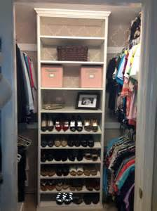 How To Build Garage Storage System by Diy Walk In Closet Organizer Home Design Ideas