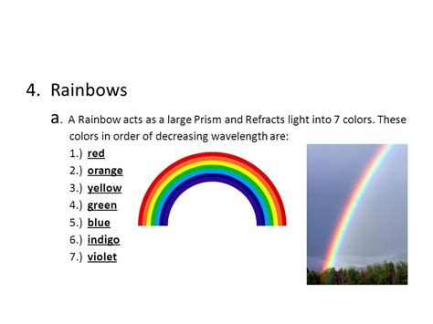 order of the colors of the rainbow 7 colors of the rainbow in order www pixshark