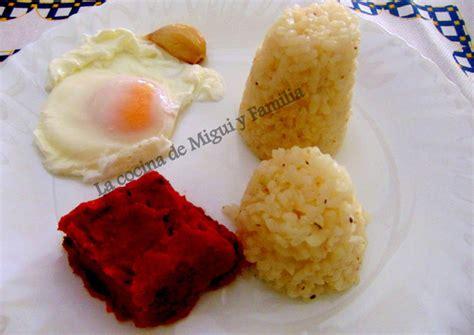 dieta sin sal recetas arroz a la cubana para dieta sin sal receta de la cocina