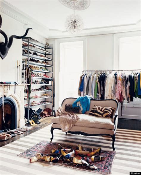 room wardrobe 6 ways to store your stuff when there s not enough closet space huffpost