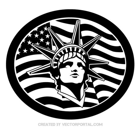 how do you that liberty statue is symbol statue of liberty vector pixshark com images