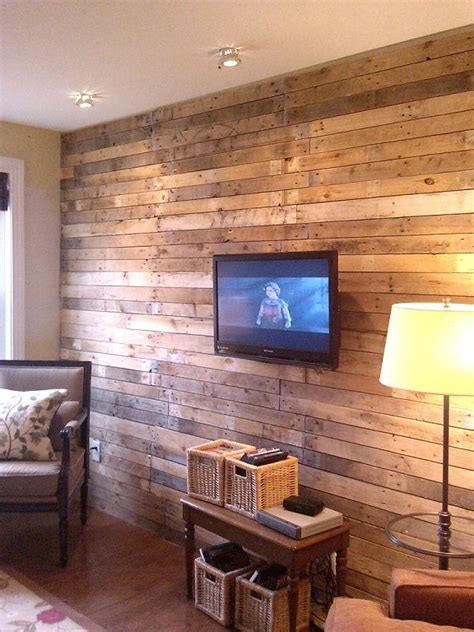 ideas  decorar las paredes tu casa  madera tu casa bonita