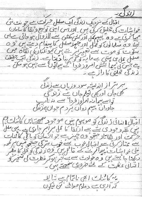 Allama Iqbal Essay In For Class 4 by Information About Iqbal In Urdu