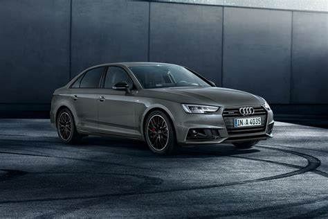 black audi audi a4 black edition piles on the style auto express