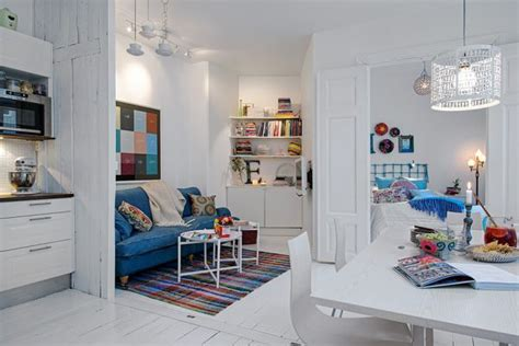 white in swedish a charming white apartment with colorful accents in sweden