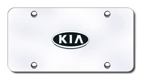 Kia License Plate Kia Logo License Plates Logo Tags Chrome Kia License