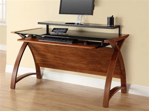 Computer Desk Superstore Stores That Sell Computer Desks Contour 1300 Computer Desk In Walnut Furniture With Regard To