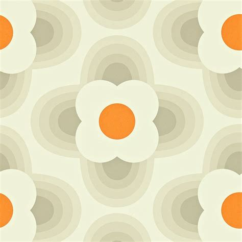 striped petal wallpaper fog  harlequin orla
