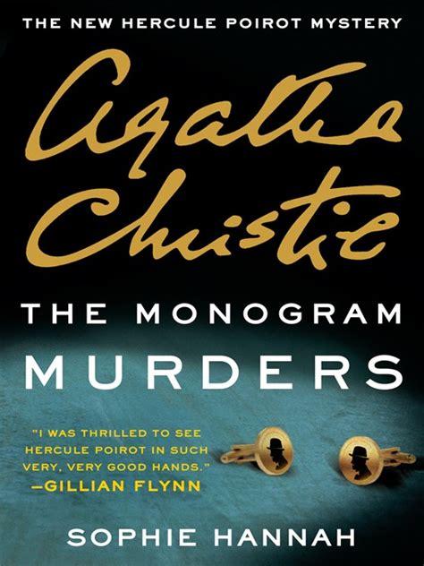 libro the monogram murders hercule the monogram murders emedia library download free ebooks audiobooks more