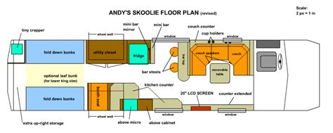 rv bus conversion floor plans floorplan gif 850 215 340 skoolie rv sle floor plans