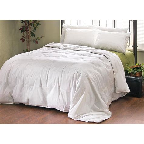 feather comforter plus 4 feather pillows