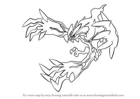 pokemon coloring pages yveltal learn how to draw yveltal from pokemon pokemon step by