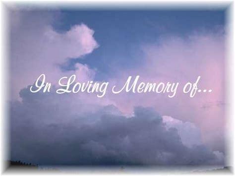 In Memory im memory of quotes quotesgram