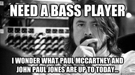 Bass Player Meme - bass player memes