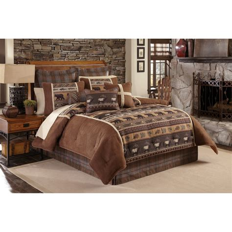 california king duvet cover wooded river el dorado ii