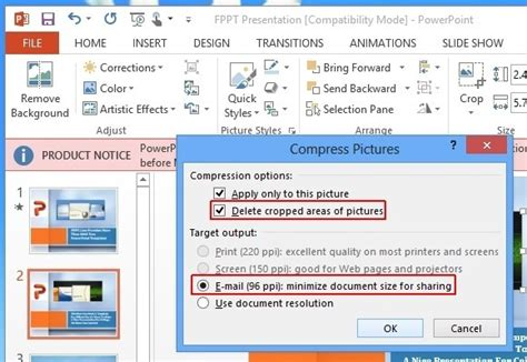 Free Download Reducing File Sizes In Powerpoint Programs Free Ppt File