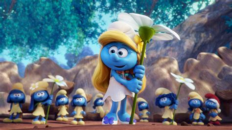 The Smurfs smurfs the lost boasts power but it s all low energy la times