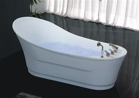 freestanding bathtubs with air jets hs b557 single use free standing with charming led light