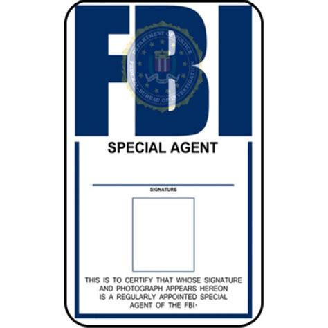 enforcement id card template fbi id template fbi identification card from the identity