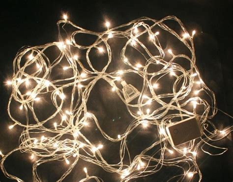 christmas bulbs with warm rice cue string lights m