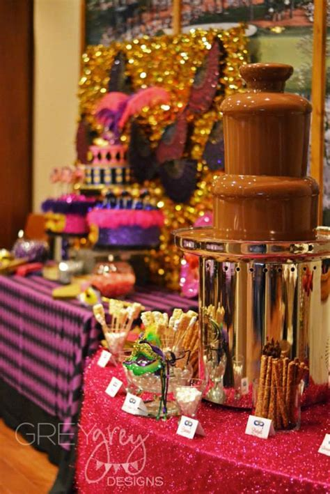 18th Birthday Giveaway Ideas - masquerade 18th birthday party via kara s party ideas karaspartyideas com cake decor