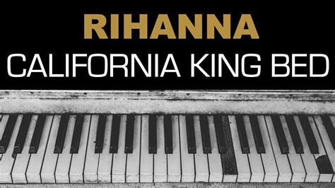 rihanna california king bed lyrics rihanna california king bed karaoke instrumental