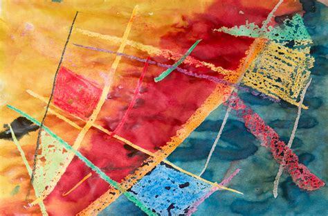 gambar abstrak struktur pola merah biru warna warni
