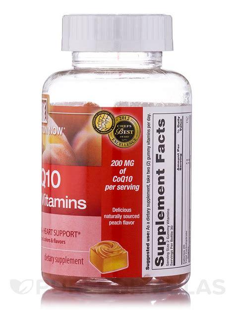 Gummy 60s 10s coq10 gummy vitamins flavor 60 gummies