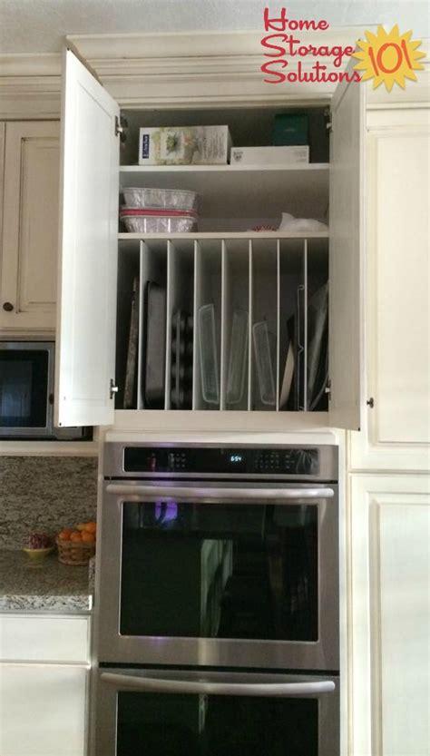 kitchen cookware bakeware bakeware organizer storage ideas