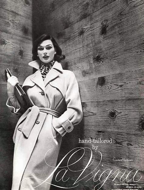 Vigna Grey Black by Couture Vintage Fashion La Vigna Vicuna Trench