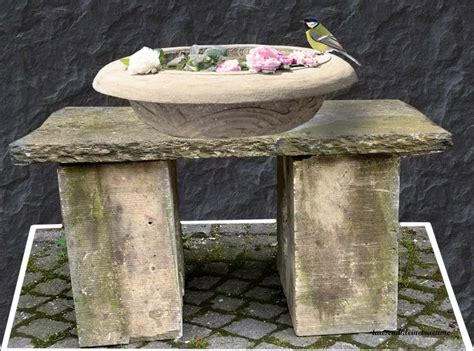 steintisch garten alter steintisch naturstein steinbank aus porphyr mit