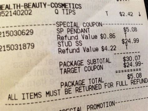 target receipt template target receipt template quotes