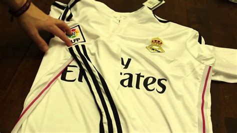 Jersey Real Madrid Hitam 201415 gogoalshop hk jersey review real madrid 2014 15 home sleeve
