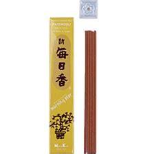 nippon kodo morning incense patchouli 50 sticks